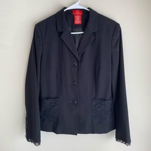 ❗️CLZT CLEAR OUT❗️ Oscar De La Renta Black Blazer